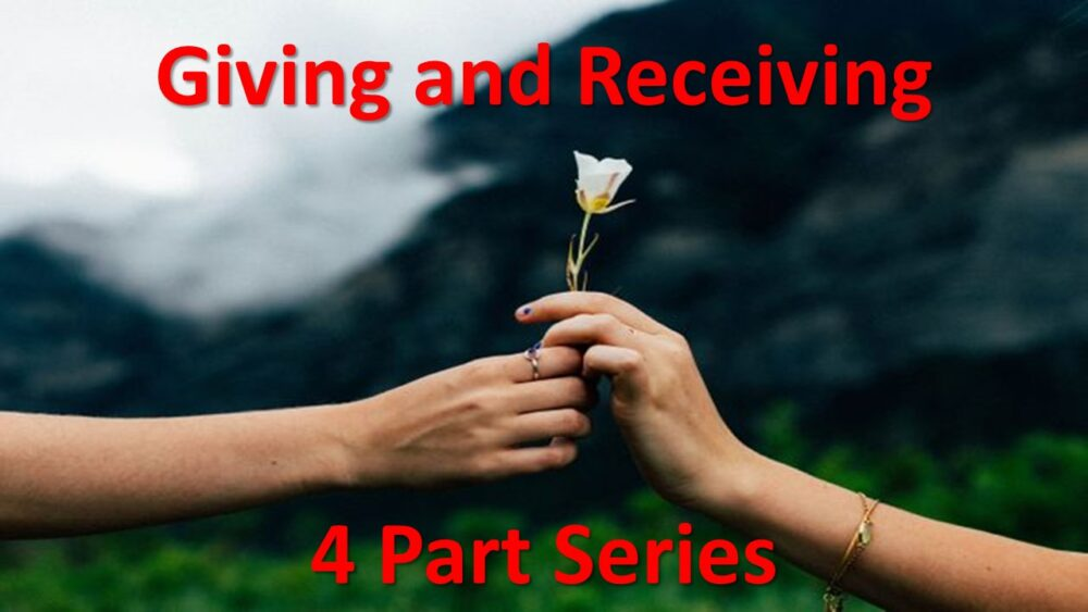 Giving and Receiving Part 1 Image
